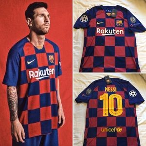 🔥2019/2020 Barcelona Messi Jersey #10🔥